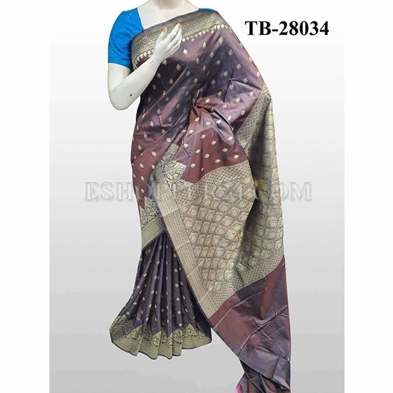Picture of Buty Katan Saree -TB-28034