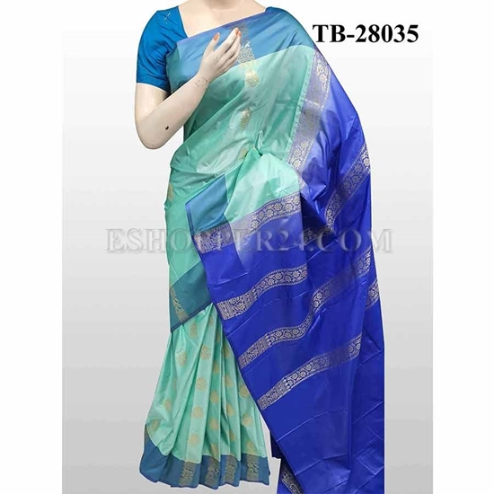 Picture of Buty Katan Saree -TB-28035