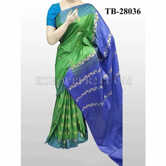 Picture of Buty Katan Saree -TB-28036