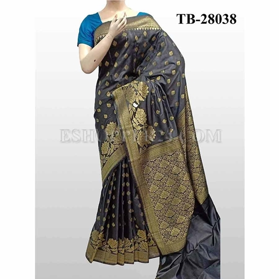 Picture of Buty Katan Saree -TB-28038