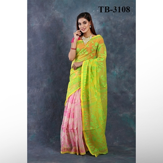 SOFT COTTON JAMDANI SAREE